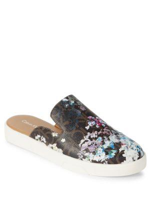 Irine Floral Slide Sneakers by Calvin Klein