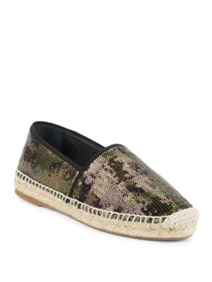 Sienna Sequined Espadrille Flats by Marc Jacobs