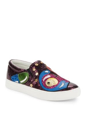 Mercer Glittery Sneakers by Marc Jacobs