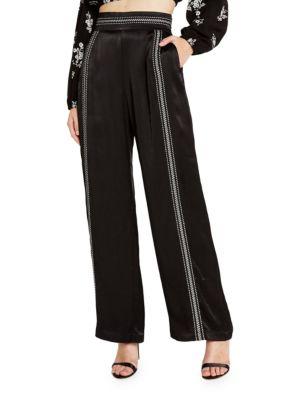 New Romantics Banded-Waist Pants by Bardot