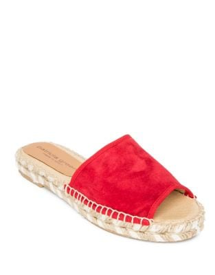Bali Suede Espadrille Sandals by Patricia Green