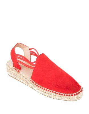 Elba Suede Espadrille Sandals by Patricia Green