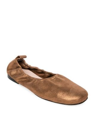 Lily Leather Ballet Flats by Patricia Green