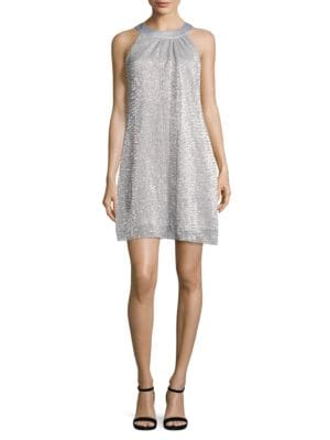 Sequin Shift Dress by Vince Camuto