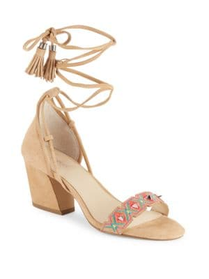 Penelope Leather Sandals by Botkier New York