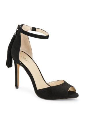 Anna Tasseled High Heeled Sandals by Botkier New York