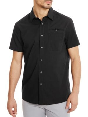 Stretch Ripstop Shirt by Kenneth Cole