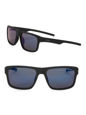 Core 55MM Matte Framed Sunglasses by Polaroid