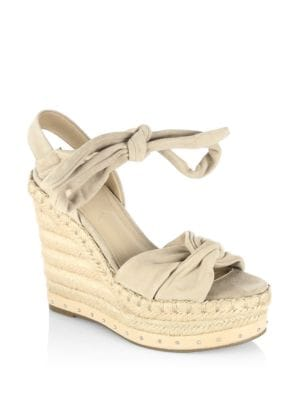 Grayce Suede Espadrille Wedges by KENDALL + KYLIE