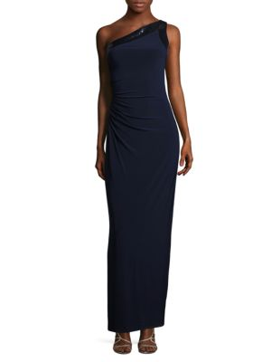 Sequined One Shoulder Dress by Vince Camuto