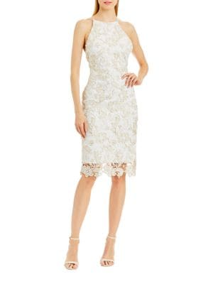 Lace Sheath Dress by Nicole Miller New York