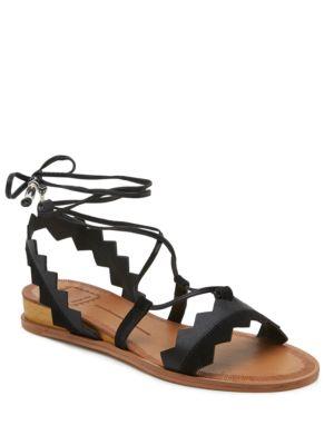 Pedra Calf Hair Wedge Sandals by Dolce Vita