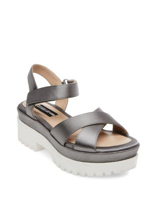 Faima Platform Sandals by Design Lab Lord & Taylor