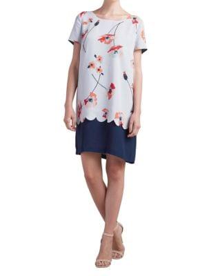 Short-Sleeve T-Shirt Dress by Paper Crown