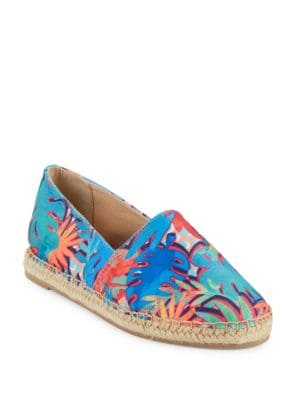 Laila Printed Espadrille Flats by Circus by Sam Edelman
