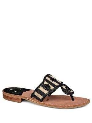 Marian Whipstitch Pattern Sandals by Jack Rogers