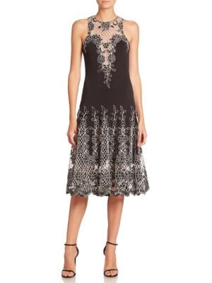 Floral Patterned Dress by Basix