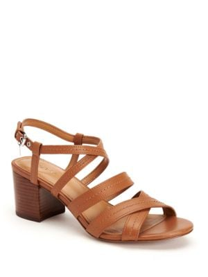 Terri Block Heel Sandals by COACH
