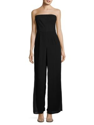 Strapless Jumpsuit by Xscape