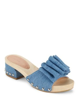 Aida Denim Sandals by Sigerson Morrison