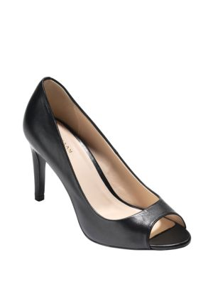 Hellenot Leather Pumps by Cole Haan