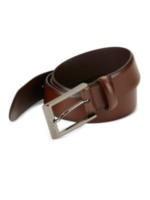 Gamal Leather Belt @...