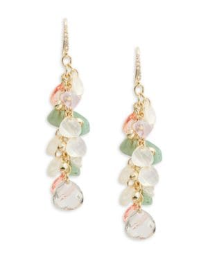 Beaded Drop Earrings 500086965452