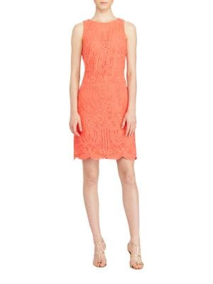 Lace Sleeveless Dress by Lauren Ralph Lauren