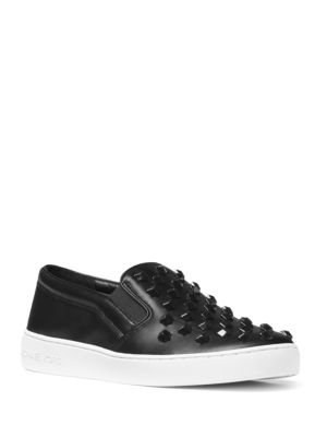 Keaton Leather Slip-Ons Sneakers by MICHAEL MICHAEL KORS