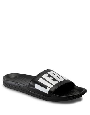 Signature Slide Sandals by Liebeskind Berlin