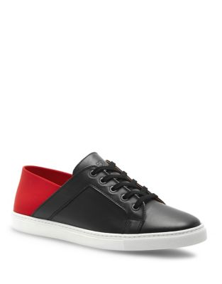 Lace-Up Leather Round-Toe Sneakers by Liebeskind Berlin