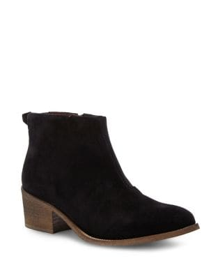 Side-Zip Leather Ankle Boots by Liebeskind Berlin