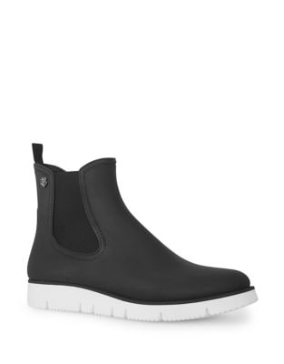 Rubber Chelsea Boots by Liebeskind Berlin