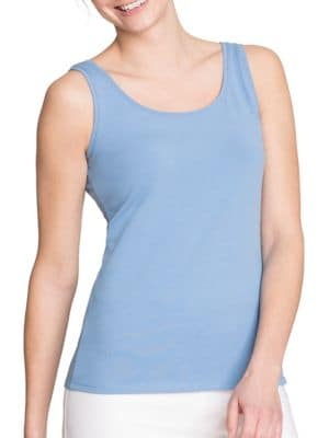 Petite Stretch-Cotton Tank 500086975035