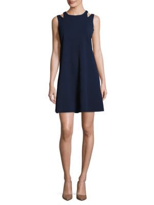 Double Strap A-Line Dress by Taylor