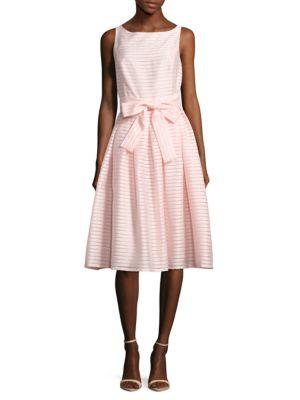 Striped Tie-Up Dress by Tommy Hilfiger