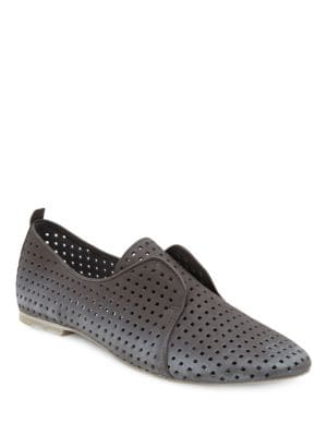 Kylie Perforated Leather Loafers by Dolce Vita