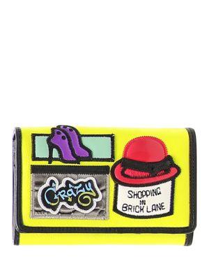 Cartoline Shopping on Brick Lane Wallet by Tua