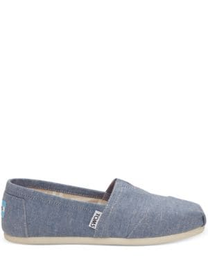 Alpargata Seasona Classic Denim Flats by TOMS