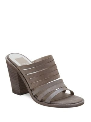 Buy Lorna Slip-On Stacked Heel Sandals by Dolce Vita online