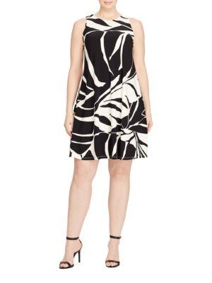 Printed A-line Dress by Lauren Ralph Lauren