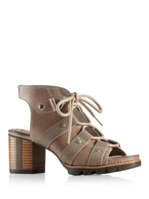 Buy Addington Leather Sandals by Sorel online