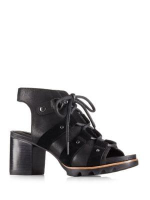 Buy Addington Lace-Up Sandals by Sorel online