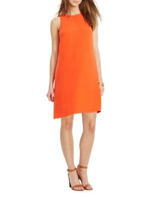 Crepe A-Line Dress by Lauren Ralph Lauren