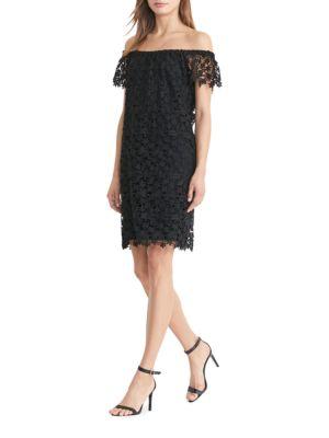 Convertible Lace Dress by Lauren Ralph Lauren