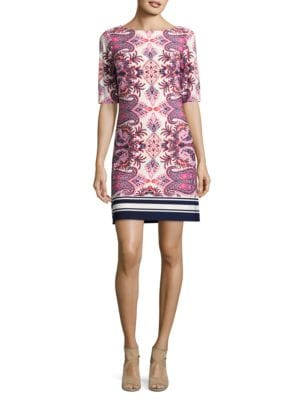 Paisley-Print Dress by Eliza J