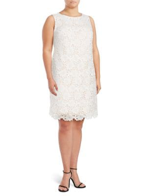 Embroidered Floral Dress by Guess