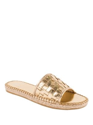 Sari Leather Slide Sandal by Andre Assous