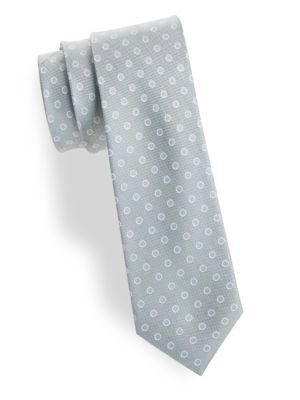 Circle Print Silk Tie by Cole Haan