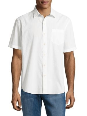 Textured Stretch-Cotton Sportshirt by Tommy Bahama